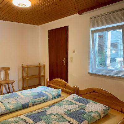 Schlafzimmer 1 - Richtung Tür